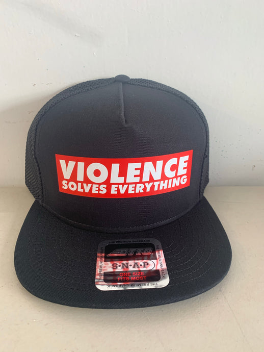 VIOLENCE SOLVES EVERYTHING OTTO SNAPBACK
