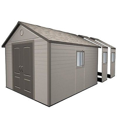 Lifetime Sheds 11'x21' Heavy Duty Shed Floor Plastic Storage Garden Building