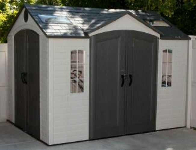 shed sheds grey plastic image garden manor keter from store