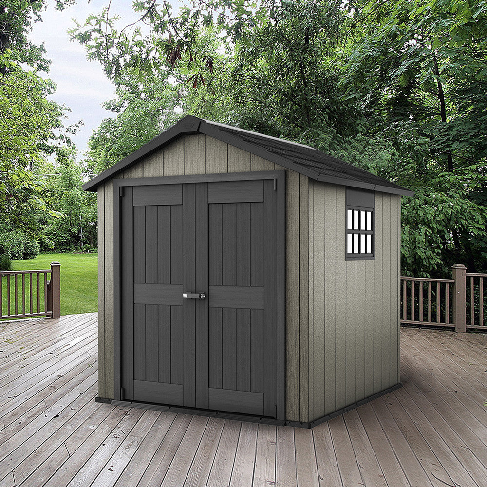 rubbermaid roughneck gable storage shed 5x4 by garden sheds 7 x 9 home design ideas - Garden Sheds 7 X 9