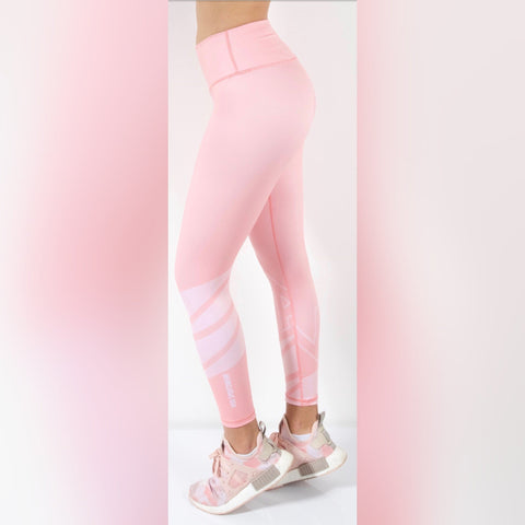 So-Solid Color Pink Leggings
