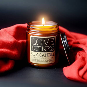 Love Stinks Soy Candle and Warmer Wax