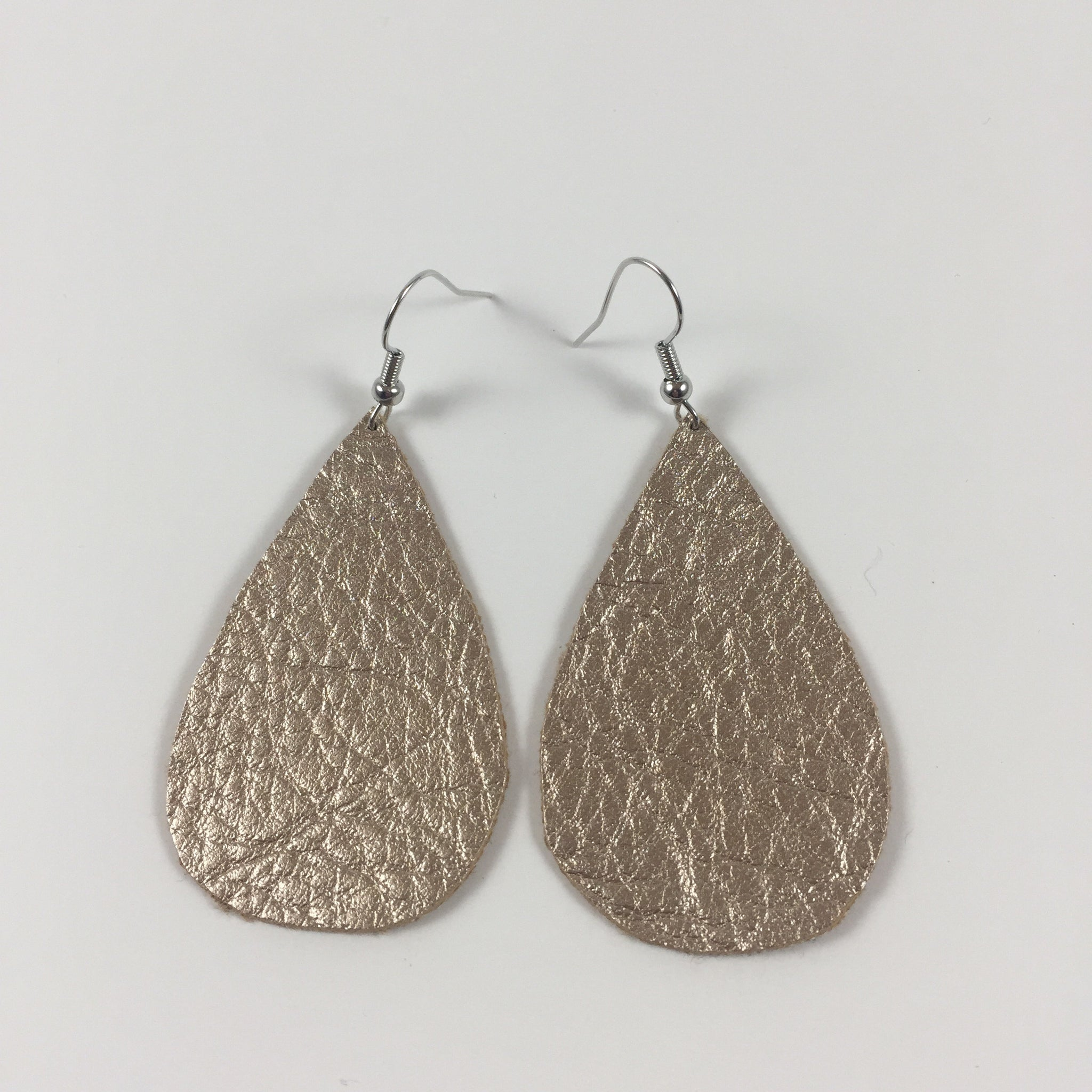 Trendsetter Gold Tear Drop Earrings