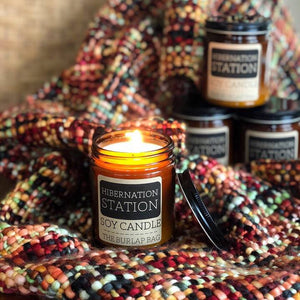 Hibernation Station Soy Candle and Warmer Wax