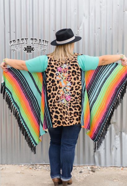 Serape Selena Crazy Train Vest