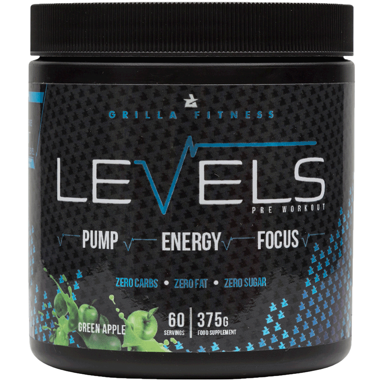 Levels Pre Workout Green Apple