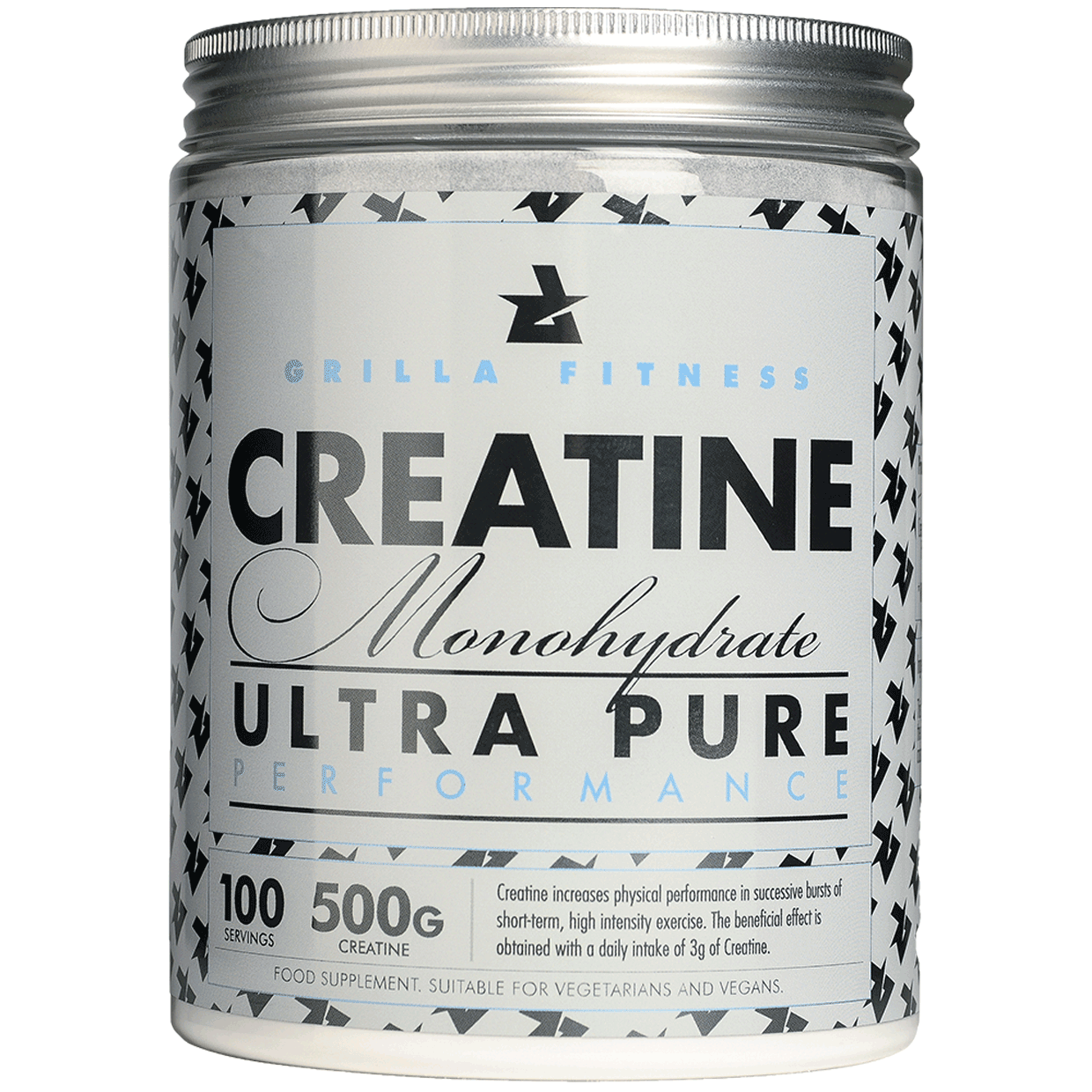 Creatine Monohydrate - 500g ULTRA PURE