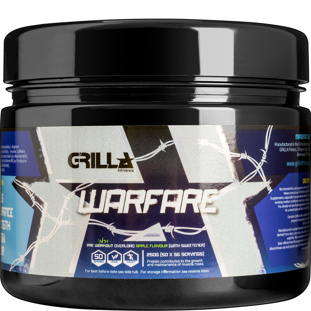 Grilla Warfare Pre workout