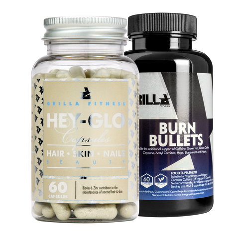 Hey-Glo & Burn Bullets Stack