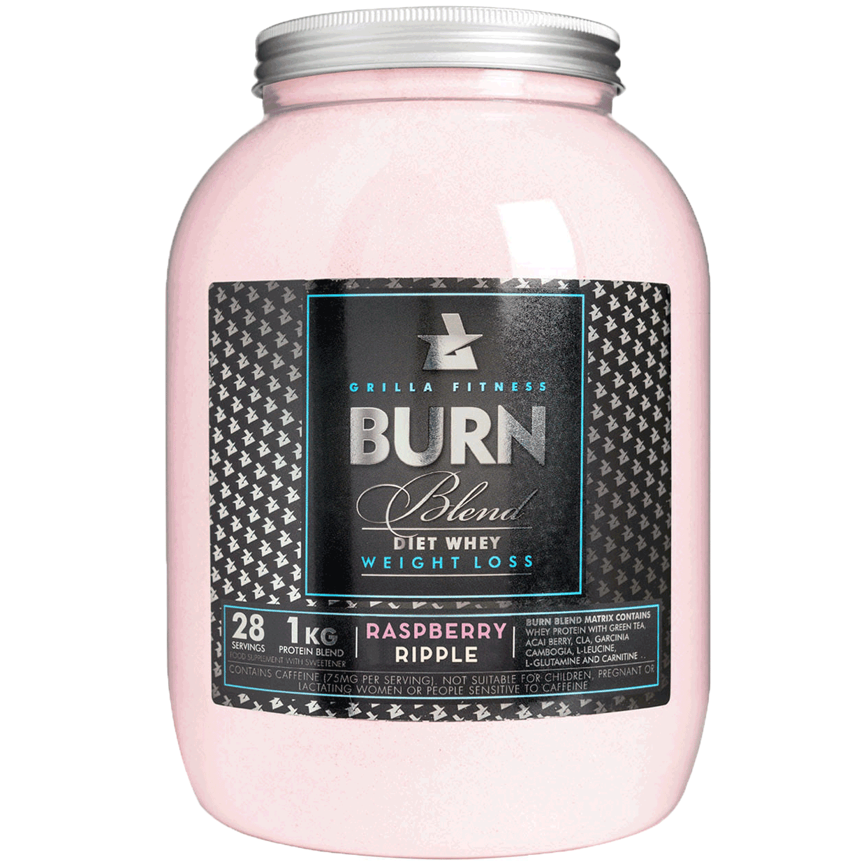 Burn Blend Diet Protein Shake Raspberry Ripple