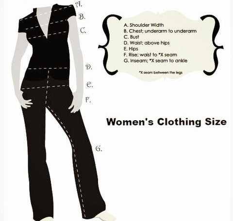 Womens Clothing Size