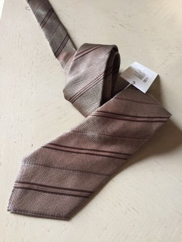 New $160 Armani Collezioni Neck Tie Made in Italy - BAYSUPERSTORE