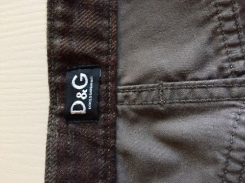 NWT $565 D&G Dolce& Gabbana Mens Pants Jeans Gray 50 Euro ( 34 US ) Italy - BAYSUPERSTORE