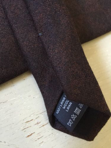 New Z Zegna Neck Tie Brown Made in Italy - BAYSUPERSTORE