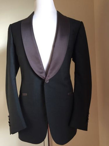 New $3550 Ermenegildo Zegna Tuxedo Suit Green 42R US ( 52R Eur) Switzerland - BAYSUPERSTORE