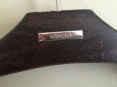 Brand New Gucci Wooden Cloth Hanger - BAYSUPERSTORE