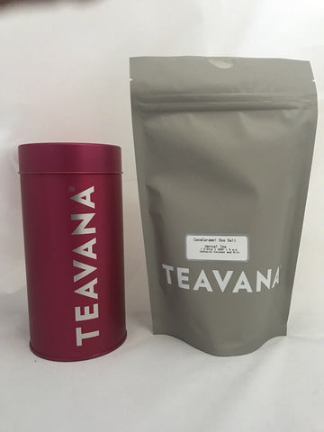 Teavana CocoCaramel Sea Salt Loose Leaf HERBAL TEA 8 OZ and FREE Tea Tin New