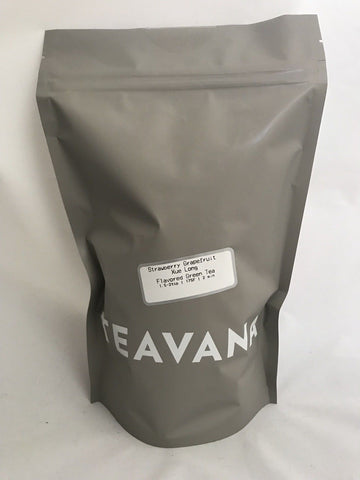Teavana Strawberry Grapefruit Due Long  Loose Leaf Green TEA 6 OZ New