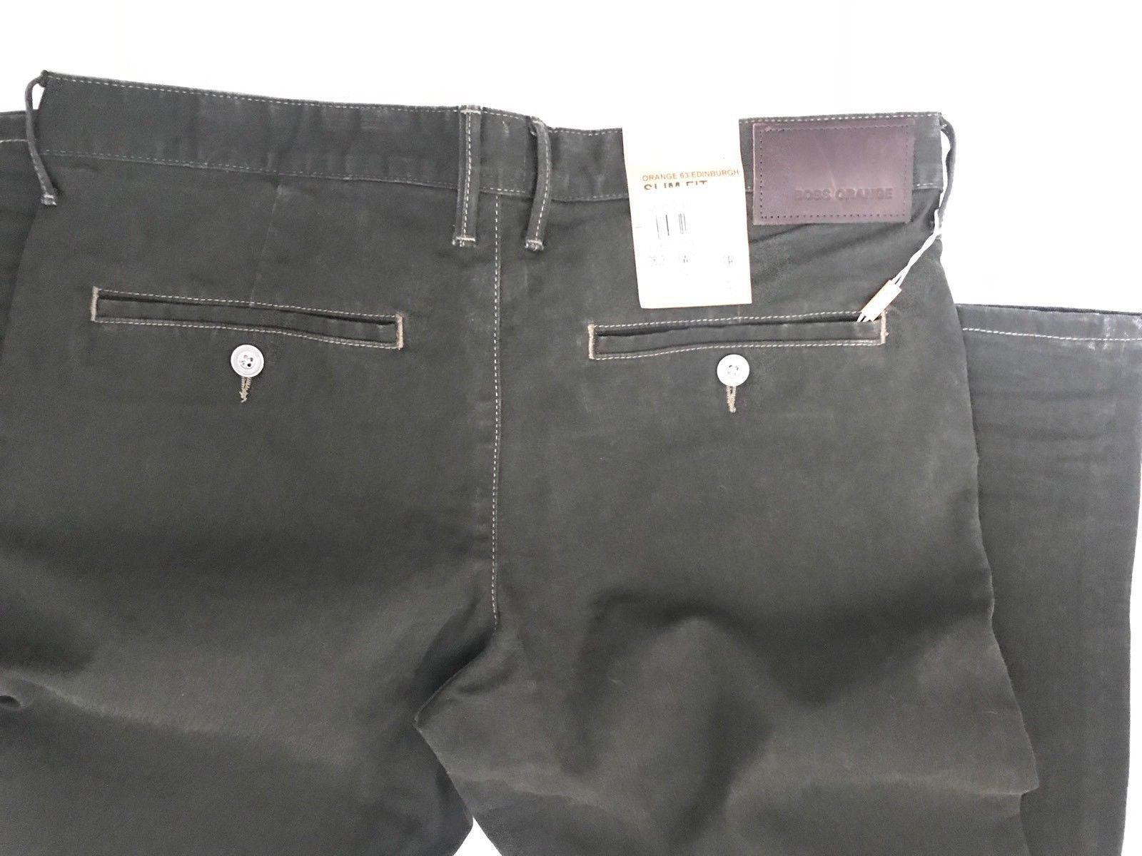 NWT $165 Boss Hugo Boss 'Edinburgh' Slim Fit Mens Pants 36 US - BAYSUPERSTORE