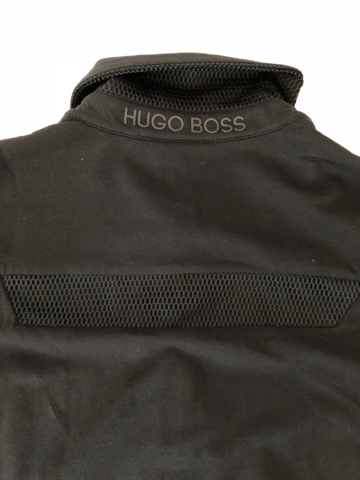 NWT BOSS Hugo Boss Green 'Pleesy 2' Long Sleeve Polo Slim Fit Shirt  Small - BAYSUPERSTORE