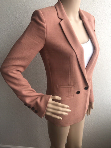 GUCCI Women's Jacket Blazer Size 2 (38 Euro) Made In Italy