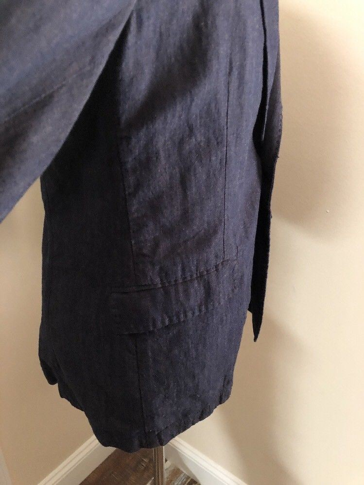 NWT $445 Boss Hugo Boss Borvette_R-W Modern Jacket Blazer Dark Blue 44R US - BAYSUPERSTORE