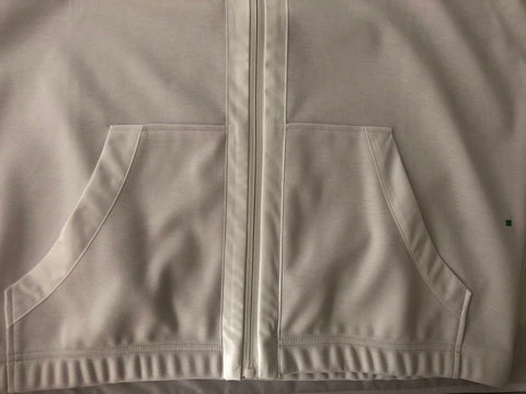 NWT $235 Boss Hugo Boss GR-Svante Modern White Hooded Sport Jacket Size XL