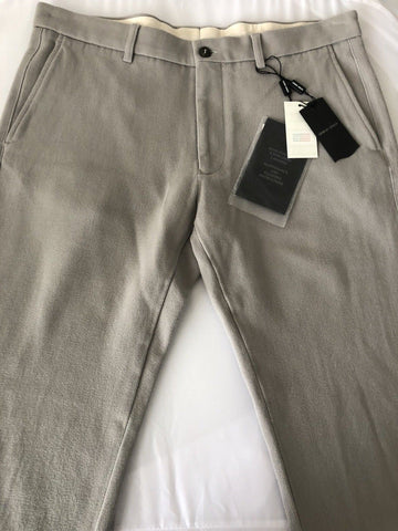 NWT $945 Giorgio Armani Mens Wool Dress Pants Size 38 US (54 Euro) Italy USP14W - BAYSUPERSTORE