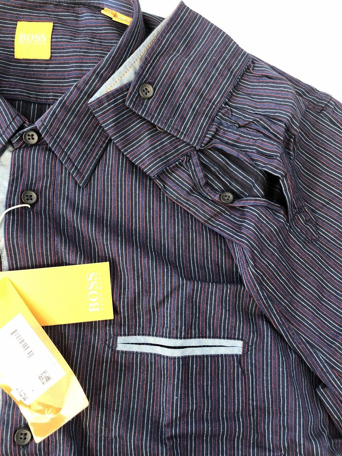 NWT $165 BOSS Hugo Boss Mens Cieloebu Modern Dress Shirt L - BAYSUPERSTORE