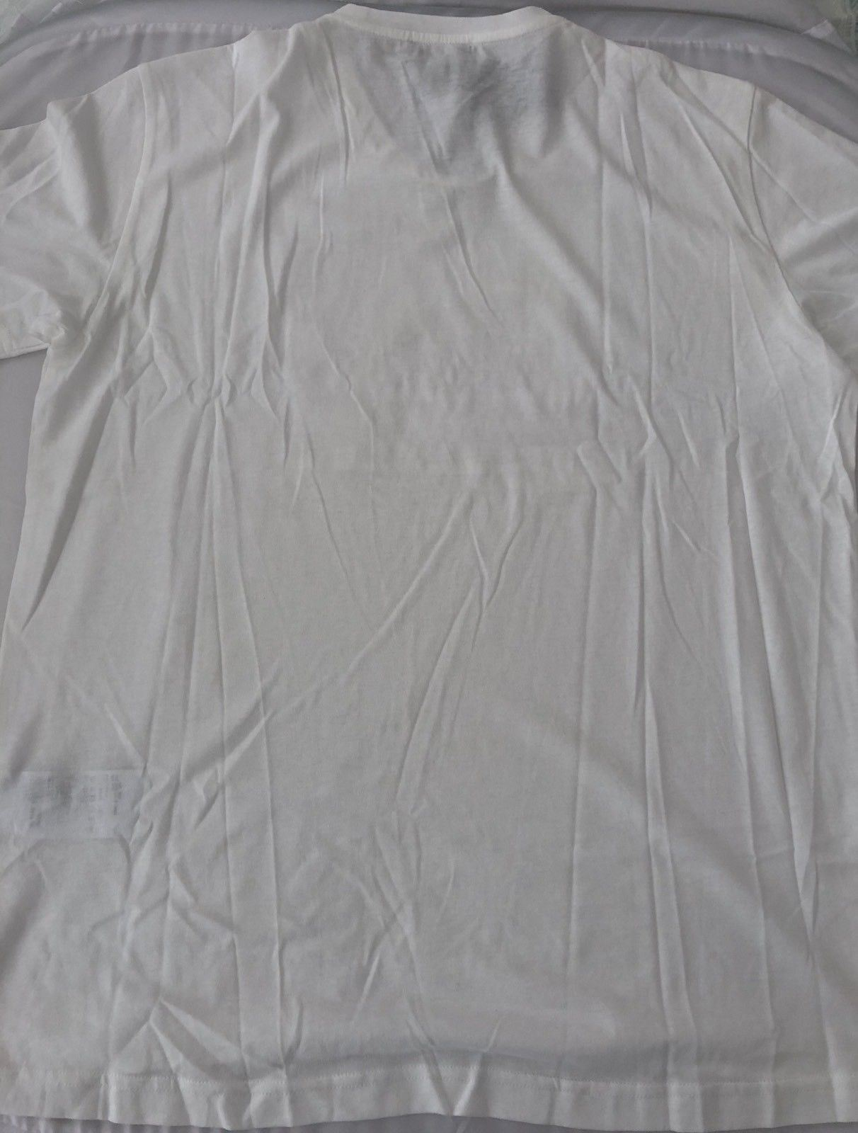 NWT $175 Emporio Armani FA White Short Sleeve T-Shirt 2XL ZPH07 - BAYSUPERSTORE