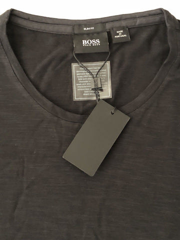 NWT $105 BOSS Hugo Boss GR-Lecco 114 Short Sleeve Slim Fit T-Shirt XL Portugal