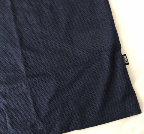 NWT $125 BOSS HUGO BOSS Tiburt 07 Regular Fit Short Sleeve Navy T-Shirt 2XL