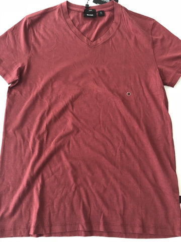 NWT $95 BOSS HUGO BOSS Canistro 29 Short Sleeve V Neck Slim Fit T-Shirt M