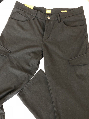 NWT $155 Boss Hugo Boss Sinest1 Black Slim Fit Mens Pants 56 Euro (40 US)