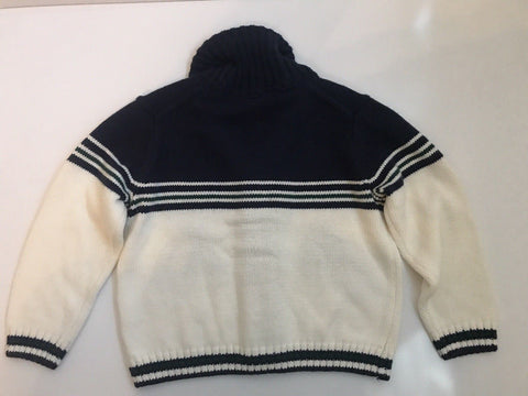 NWT $59 Janie and Jack Boy's Button Up Horse Cardigan Sweater 2T