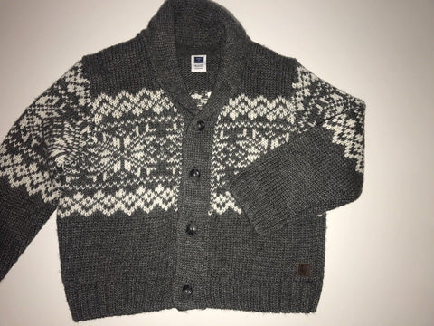 NWT Janie and Jack Boy's Cardigan Sweater and Pant Set 18 to 24 Months $94 Value