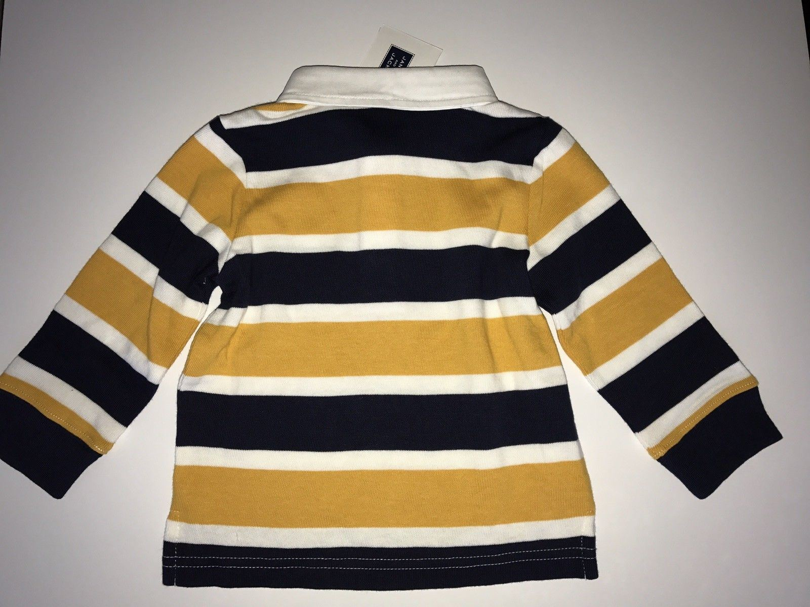 NWT $36 Janie and Jack Boy's Striped Polo Tee Size 12 to 18 Months