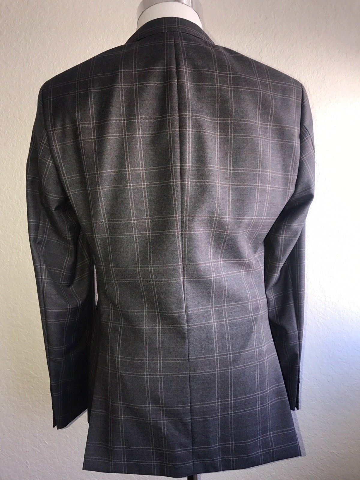 NWT $645 Boss Hugo Boss Ross-5 Wool Open Gray Sport Jacket 42R US (52 Eu)