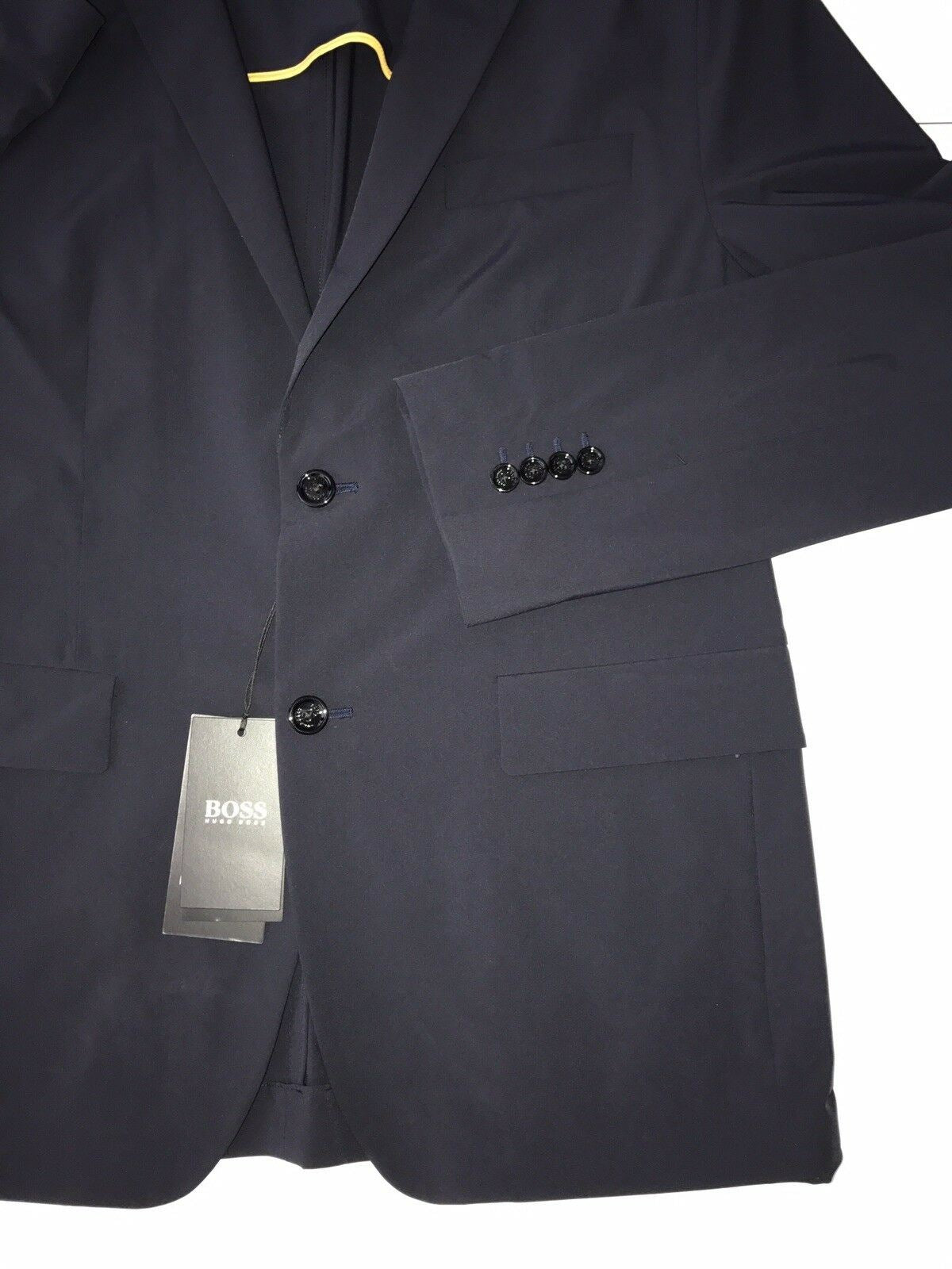 NWT $745 Boss Hugo Boss Neilton Stretch Water Repellent Men's Sport Coat 38R US
