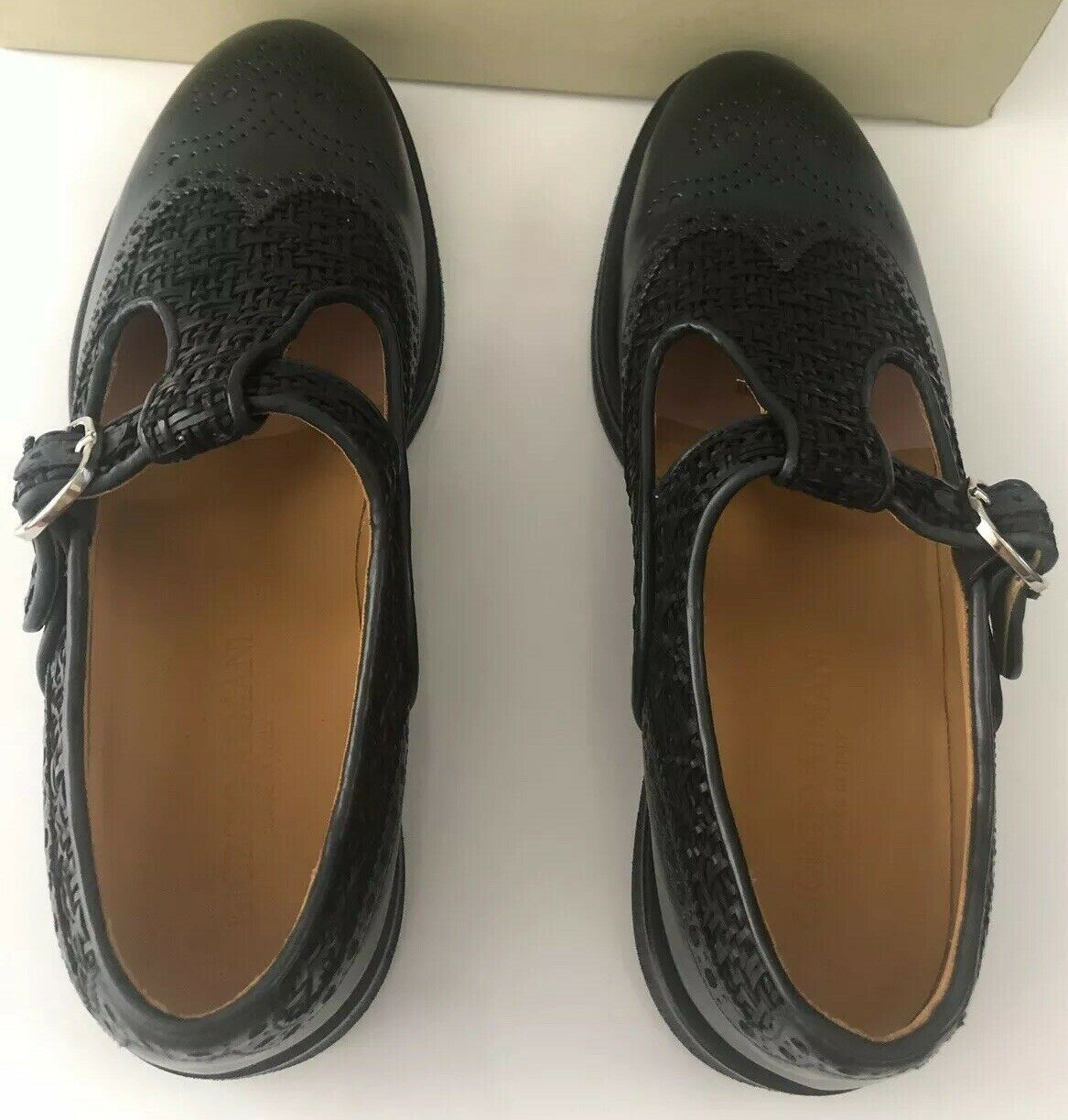 NIB $1275 Giorgio Armani Slipper Monkstrap Men's Sandals K151 8 US X2L084 IT