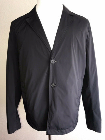 NWT $495 Boss Hugo Boss Nyelson Water Repellent Rain Jacket Blue Size 40R US