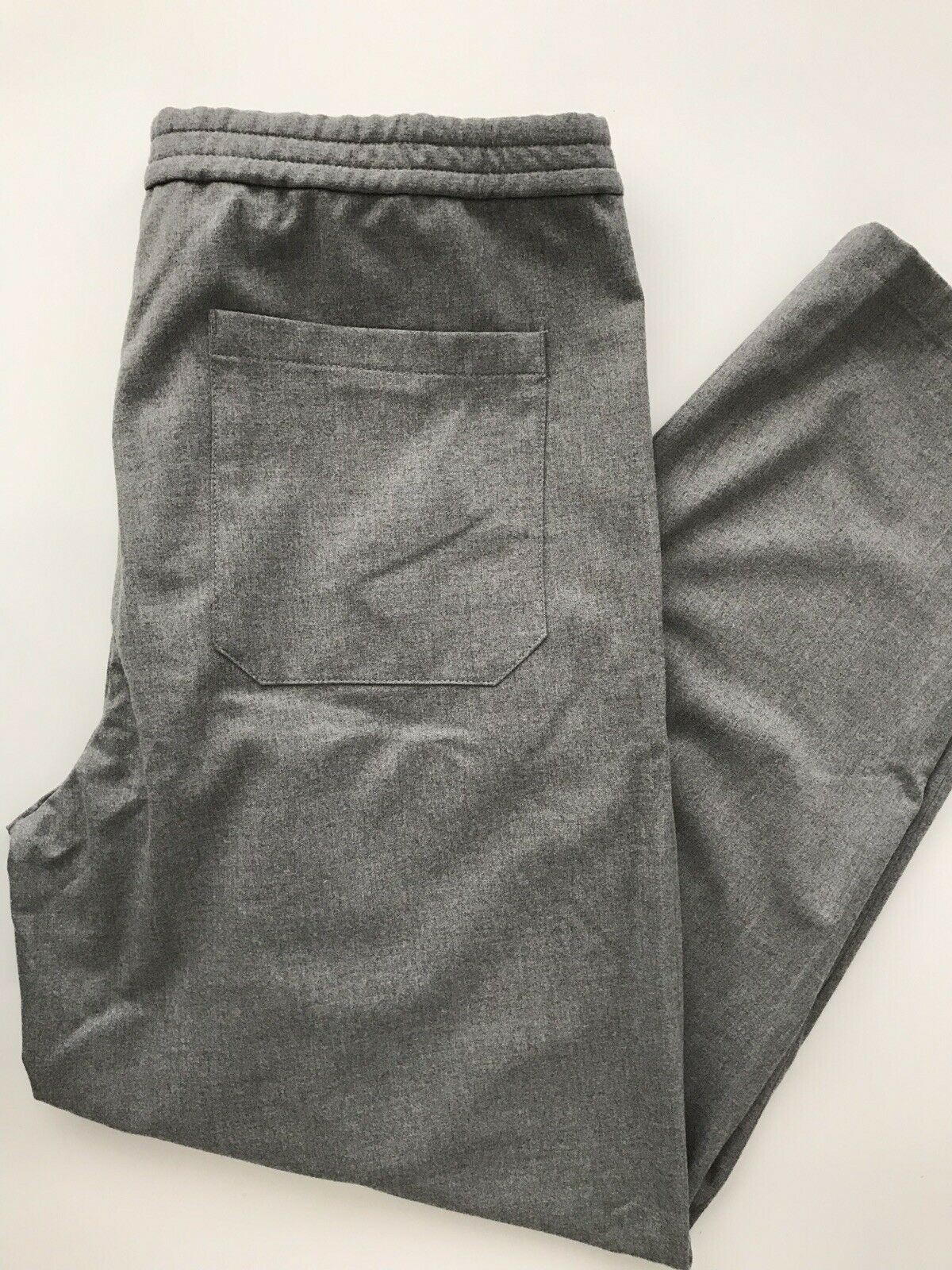 New Emporio Armani Gray Mens Casual Pants Size 32 US (48 EU ) 11P62S