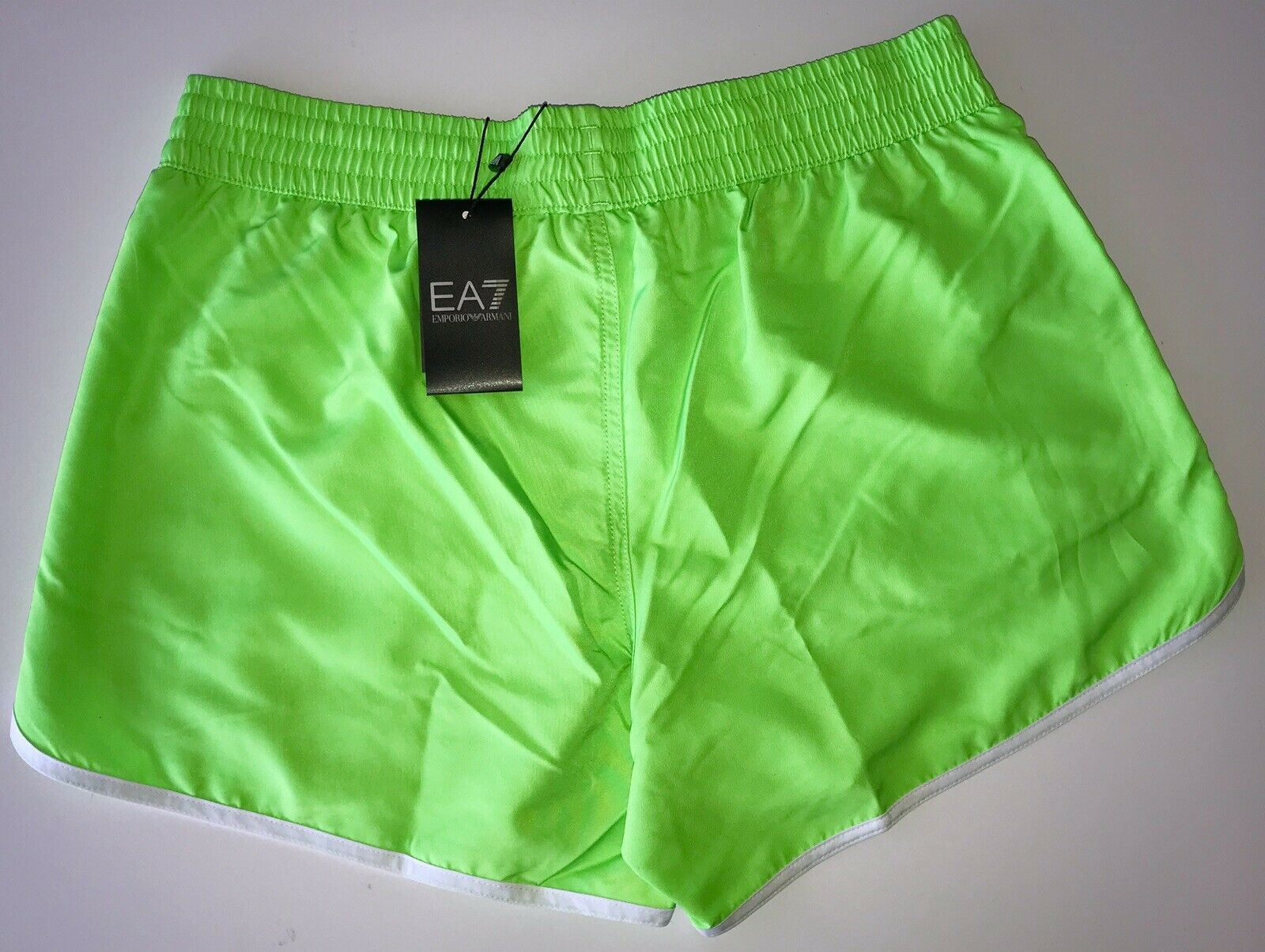 NWT $125 Emporio Armani EA7 Men's Beachwear Sea World Logo Shorts Boxer 50 Eu