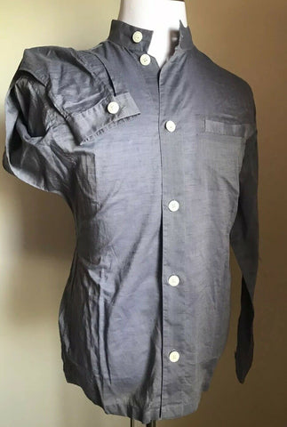 NWT $825 Giorgio Armani Mens LT Blue Dress Shirt 40/15 3/4 Italy