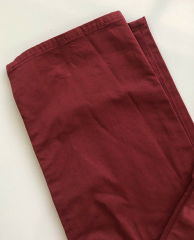 NWT $225 Emporio Armani Mens Slim Fit Red Jeans Size 33/32 US 3Z1J06