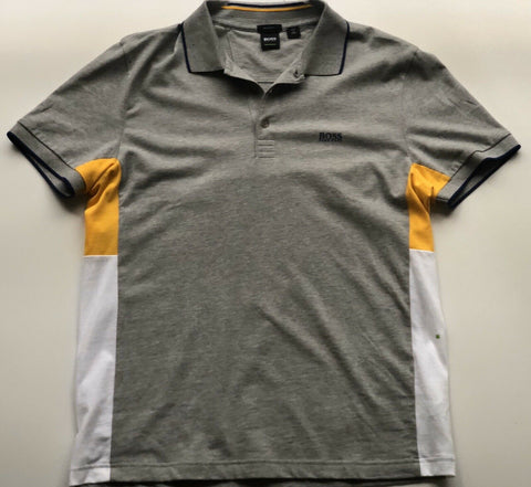 BOSS Hugo Boss Short Sleeve Modern Regular Fit Polo Shirt XL