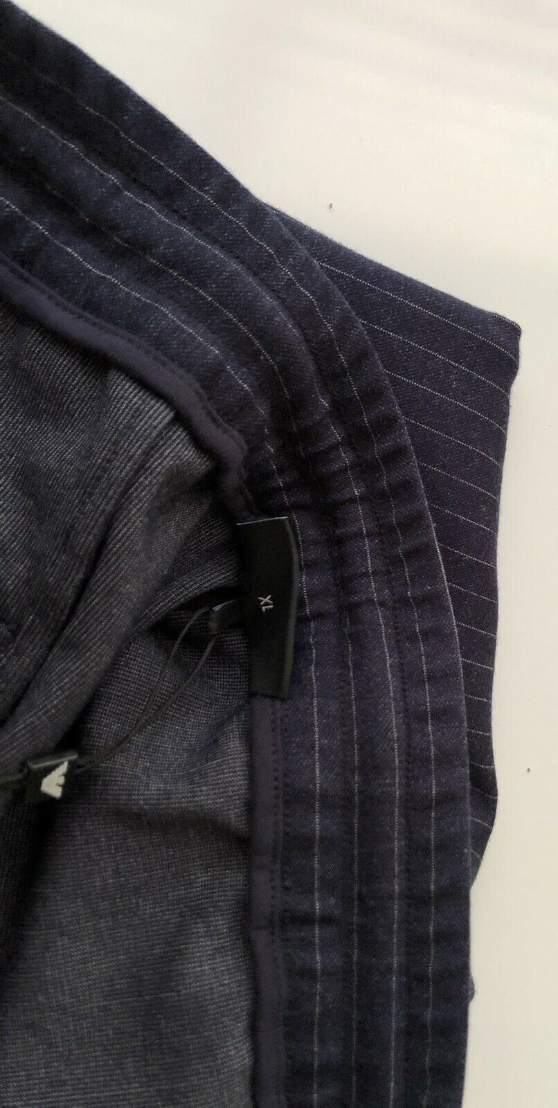 NWT $325 Emporio Armani Blue Mens Casual Pants Size XL 6Z1P81