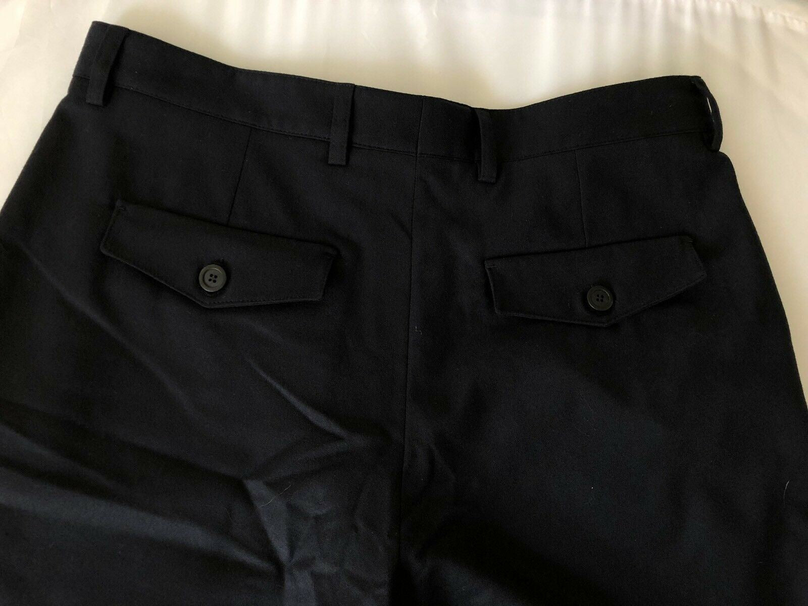 NWT $995 Giorgio Armani Mens Wool Dress Pants Size 34 US (50 Euro) Italy USP034