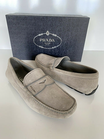 NIB PRADA Men's Scamosciato Suede Loafers 7 US (Prada 6) Made in Italy 2DD155