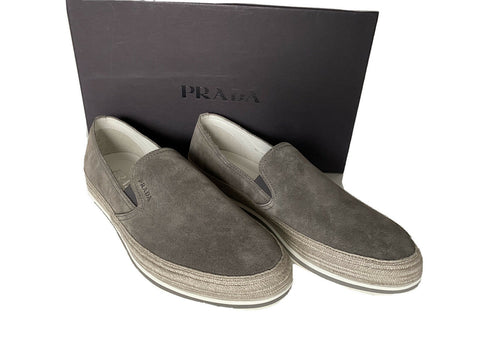 NIB PRADA Men's Sand Loafers 9 US (Prada 8) 4D3224